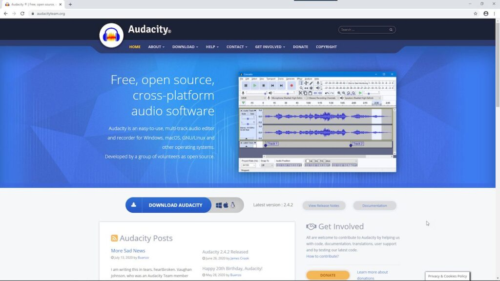 Step 1: Download and Install Audacity