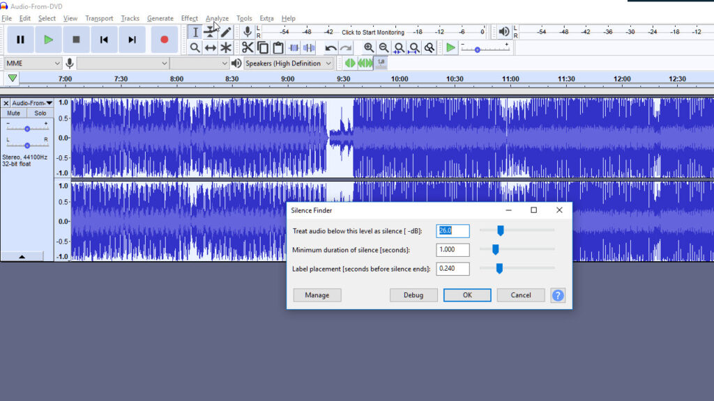 Step 3: Add Labels to your Audio file